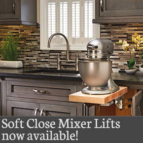 Rev-A-Shelf Soft Close Mixer Lift