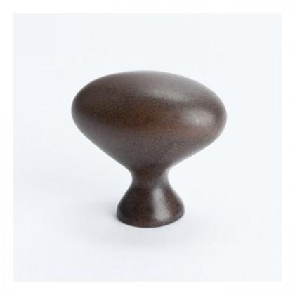 """Knob (Rust Glaze) - 1-5/16"""""""