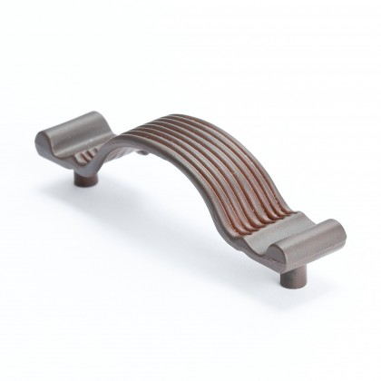 "Pull (Bronze W/Rust Glaze) - 3 5/16"""