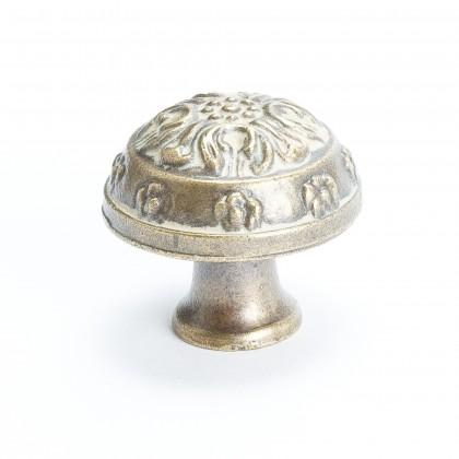 """Domed Knob (Antique Latte Glaze) - 1 1/4"""""""