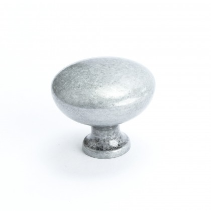 """Knob (Antique Pewter) - 1 1/4"""""""