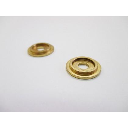 """Backplate (Polished Brass) - 5/8"""""""