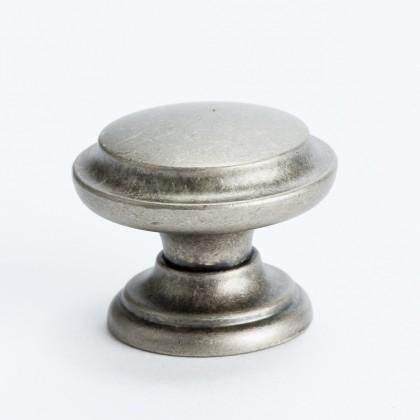 Knob w/Ring (Rustic Nickel) - 35mm