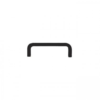 Wire Pull (Matt Black) - 96mm