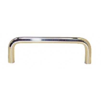"""Wire Pull (Polished Brass) - 3"""""""