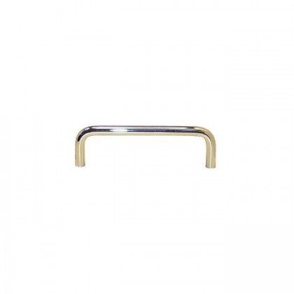 Wire Pull (Polished Brass) - 3 1/2""
