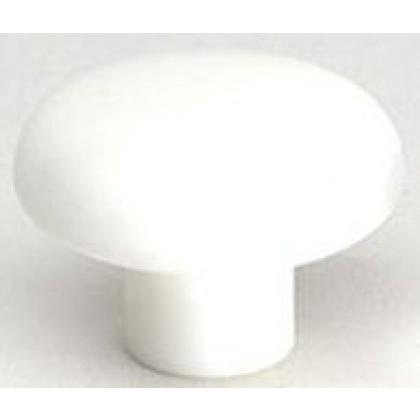 """Knob (White Polypropylene) - 1 1/2"""""""