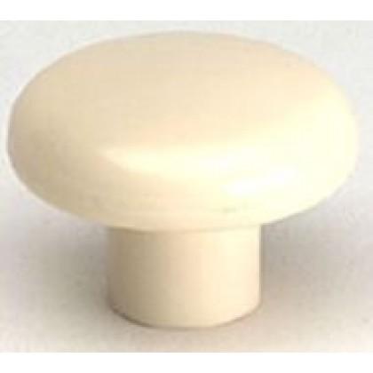 """Knob (Almond Polypropylene) - 1 1/2"""""""