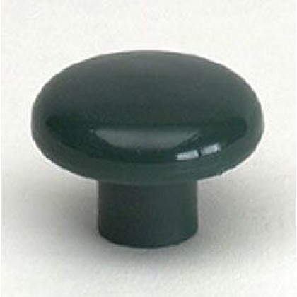 Knob (Hunter Green Polypropylene) - 1 1/2""