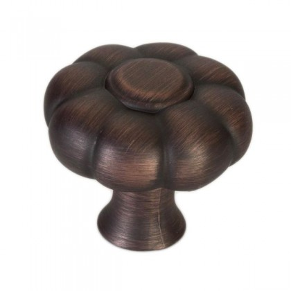 """Knob (Verona Bronze) - 1.36"""""""