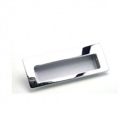 """Recessed Pull (Polished Chrome) - 4 1/2"""""""
