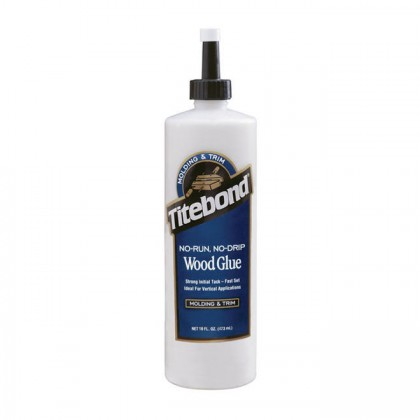 Titebond No-Run, No-Drip Wood Glue - 16 Oz