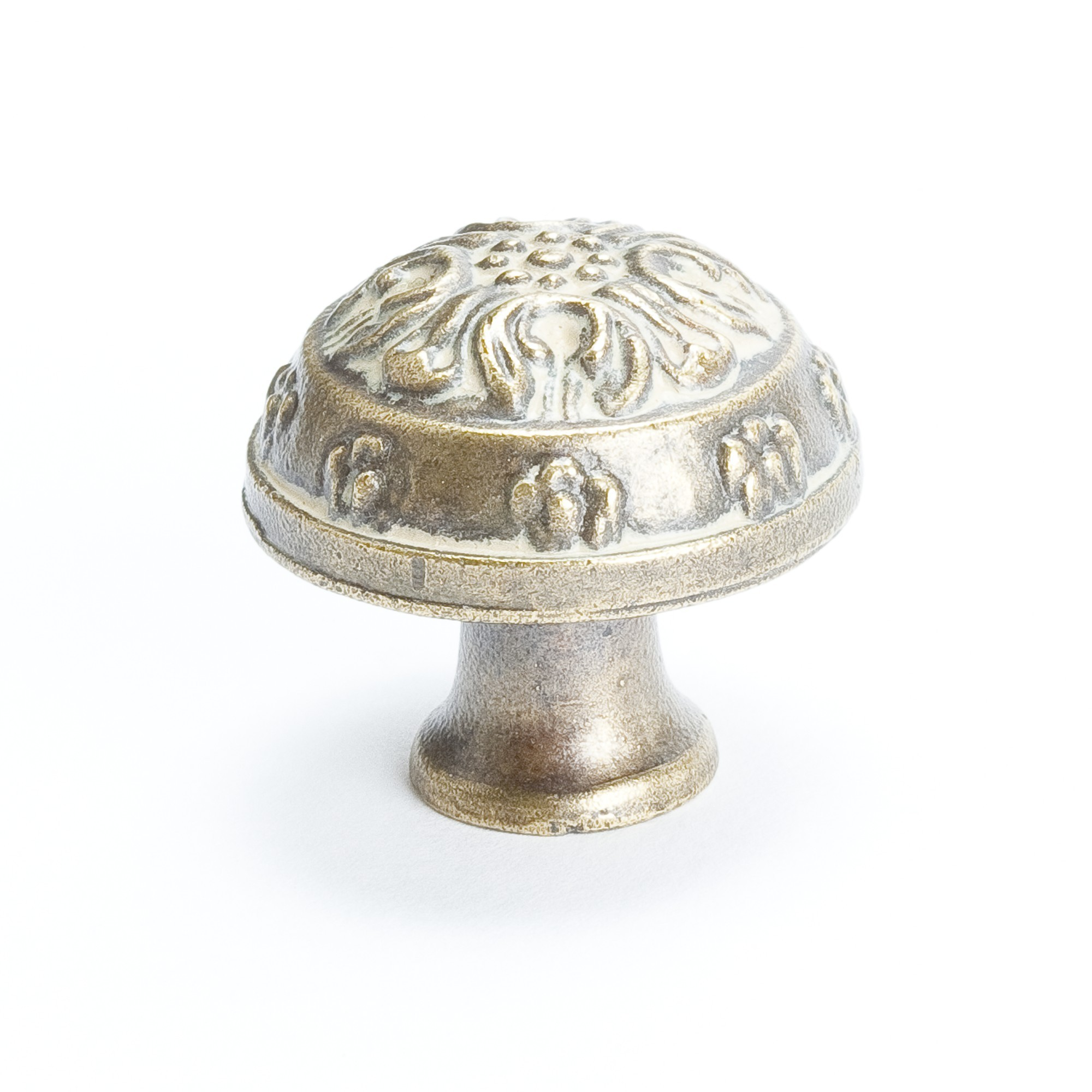 Domed Knob (Antique Latte Glaze) - 1 1/4""
