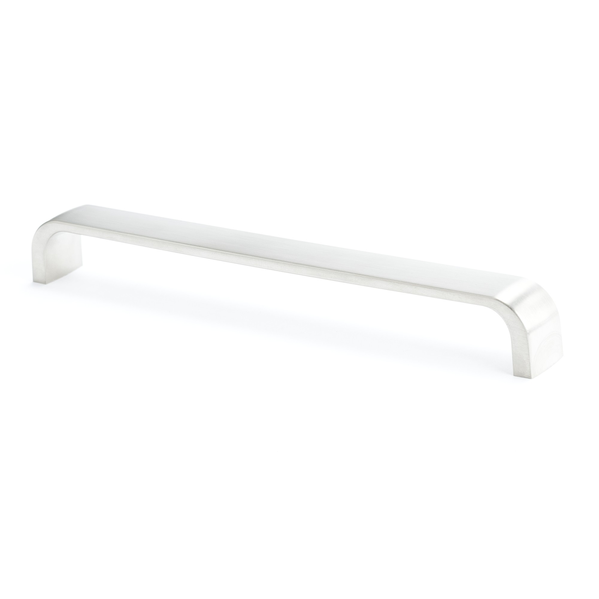 Flat Bar Pull (Brushed Nickel) - 192mm
