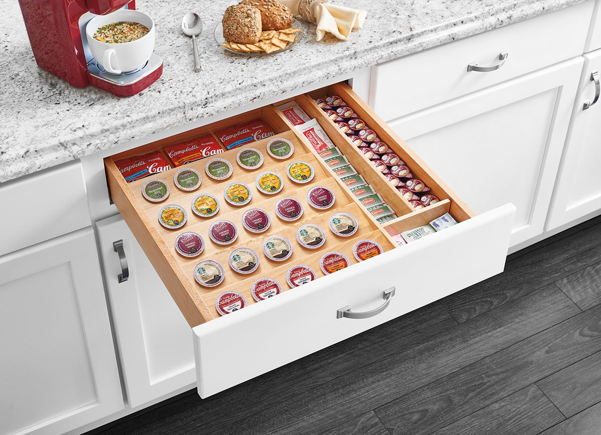 K Cup Tray Insert For 24 Quot Base Cabinet Drawers 4cdi 24