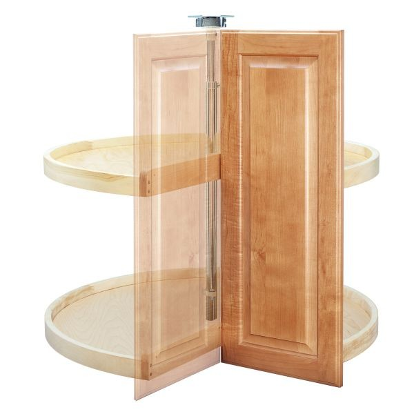 Pie Cut Lazy Susan For 33 Quot Corner Base Cabinets Wood