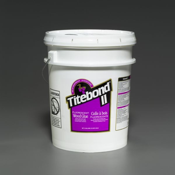 Titebond II Fluorescent Wood Glue - 5 Gallon