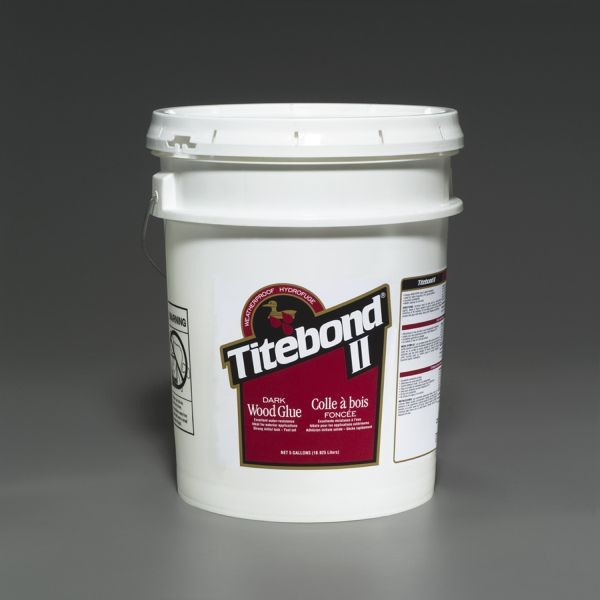Titebond II Dark Wood Glue - 5 Gallon