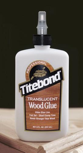 Titebond Translucent Wood Glue - 8 Oz