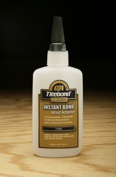 Titebond Instant Bond Adhesive (Thin) - 4 oz