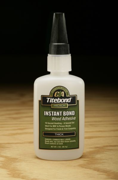 Titebond Instant Bond Adhesive (Thick) - 2 oz