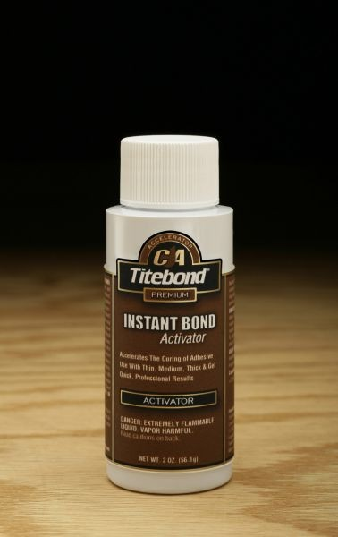 Titebond Instant Bond Activator - 2 oz