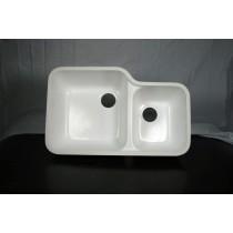 Integra Left Sink Classic (White)