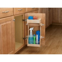 "10 1/2"" Wooden Sink Door Storage Trays"