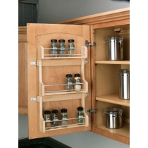 "18"" Door Mount Spice Rack"