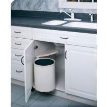 15 Liter Round Pivot-Out Waste Container