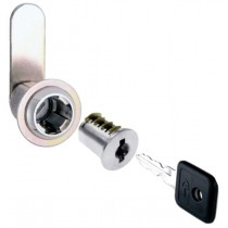 Nickel Cam Lock (w/ 2 Keys) - 30mm