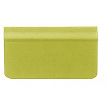 Strike Plate w/ Adhesive Rubber (Brass) - 4-6mm