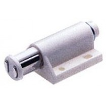 Single Magnetic Touch Latch (White)