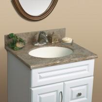 "Mystera Buckskin Canyon Vanity with Bowl (22"" x 25"")"