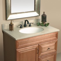 "Mystera Macadamia Vanity with Bowl (22"" x 25"")"