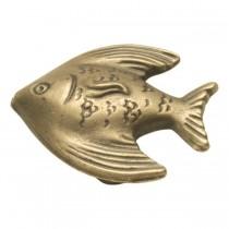 "Angel Fish Knob (Antique Mist) - 1 1/2"""