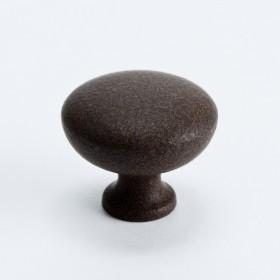 """Knob (Dull Rust) - 1 1/4"""""""