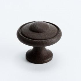 """Knob (Dull Rust) - 1 3/16"""""""