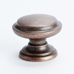 Knob w/Ring (Rustic Copper) - 35mm