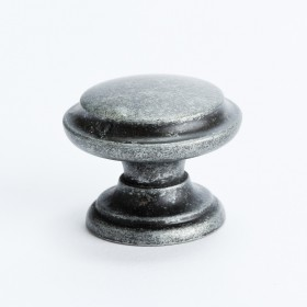 Knob w/Ring (Rustic Iron) - 35mm