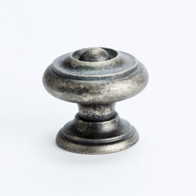 Knob (Rustic Nickel) - 30mm