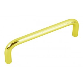 Wire Pull (Polished Brass) - 96mm