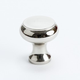 Classic Knob (Polished Nickel) - 31mm