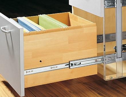 Hettich Ka 5632 Full Extension Soft Close Drawer Slides
