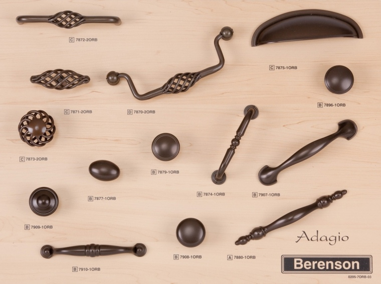 Adagio Berenson Decorative Hardware Board