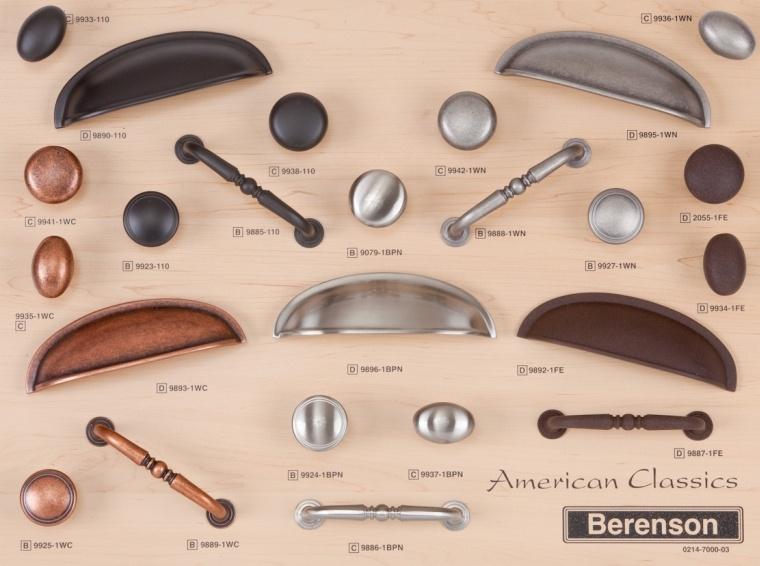American Classics Berenson Decorative Hardware Board