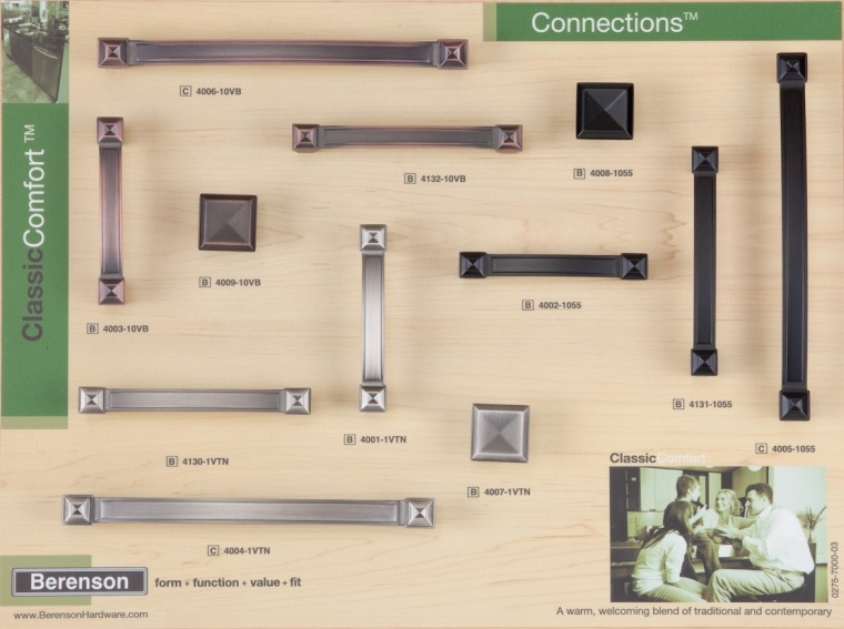 Connections Berenson Decorative Hardware Board
