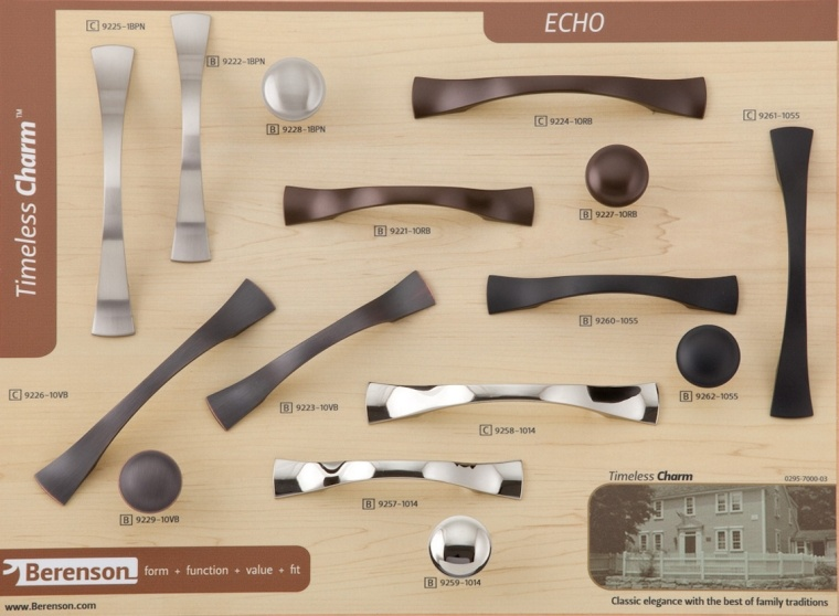 Echo Decorative Hardware by Berenson