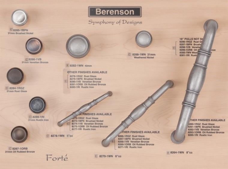 Forte Berenson Decorative Hardware Board