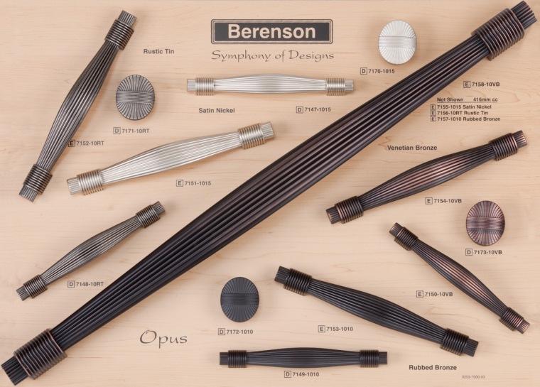 Opus Berenson Decorative Hardware Board